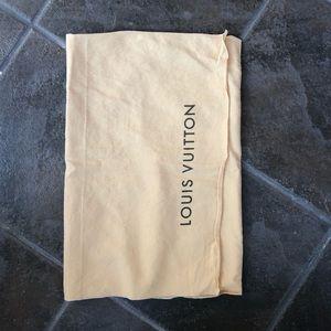 Medium Louis Vuitton Dust Bag